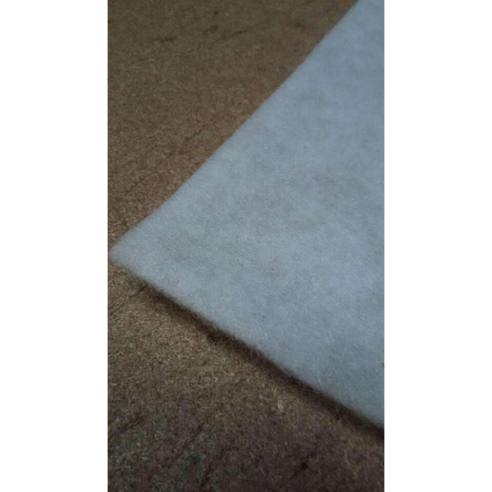 Ondertapijt - wit - 160x225 cm - Leen Bakker