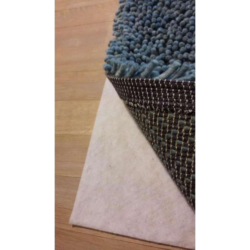 Ondertapijt - wit - 180x290 cm - Leen Bakker