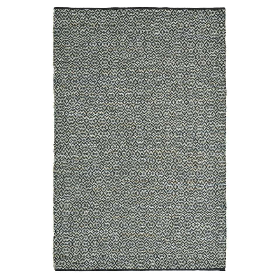 Brink & Campman vloerkleed 79904 Tribe - grijs - 160x230 cm - Leen Bakker