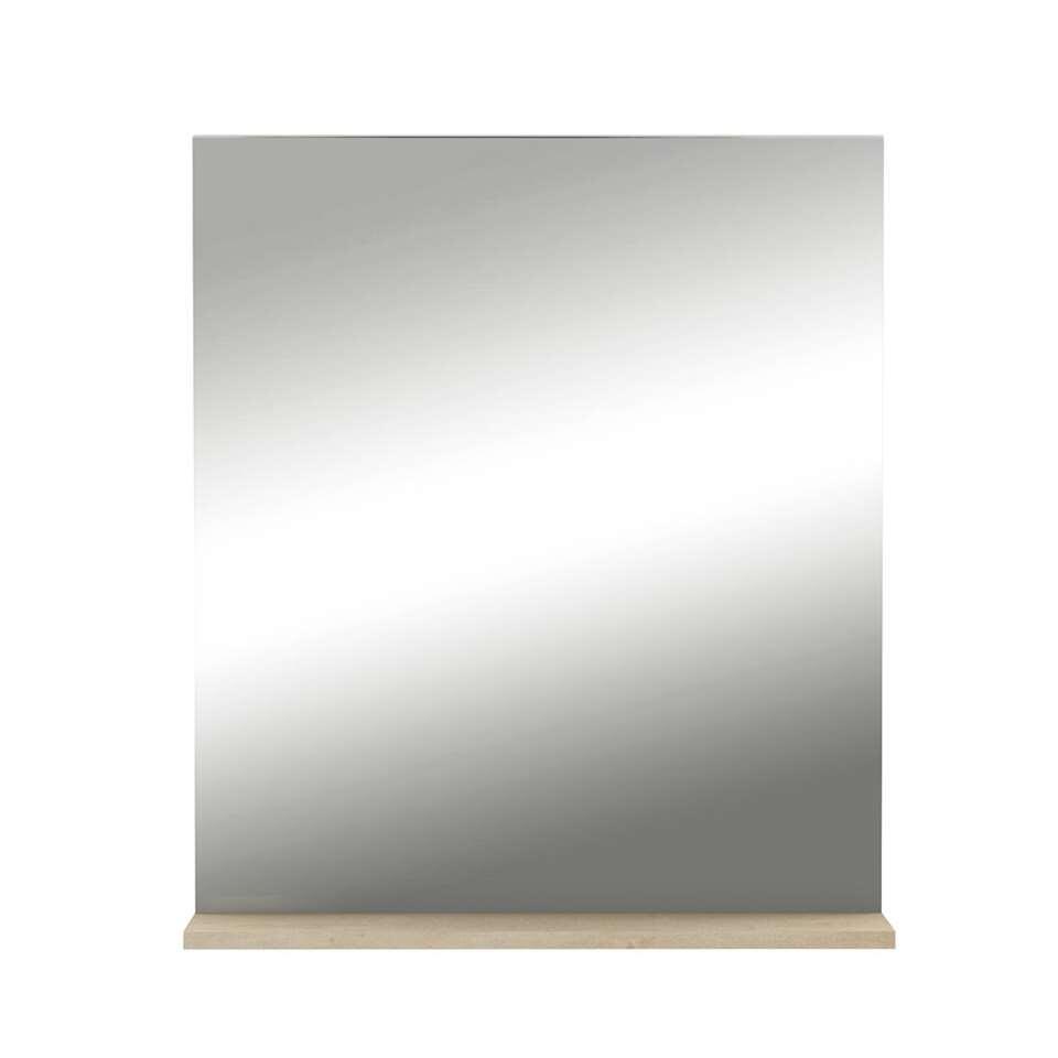 Demeyere spiegel Hawai - licht eiken - 69x60x15,5 cm