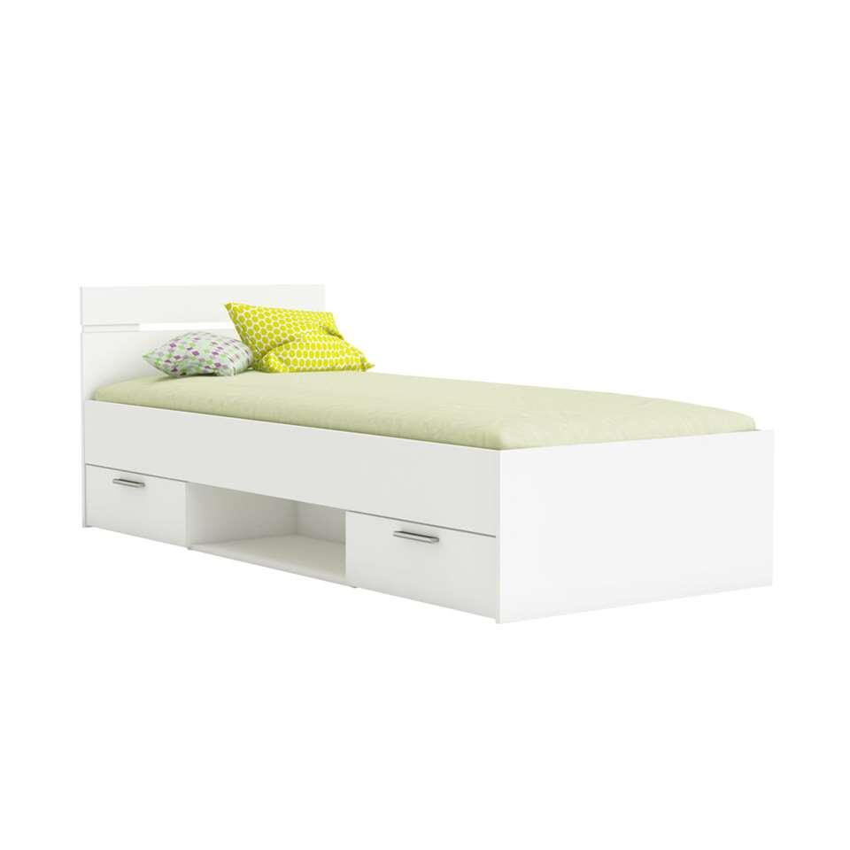 Demeyere bed Michigan - wit - 90x200 cm
