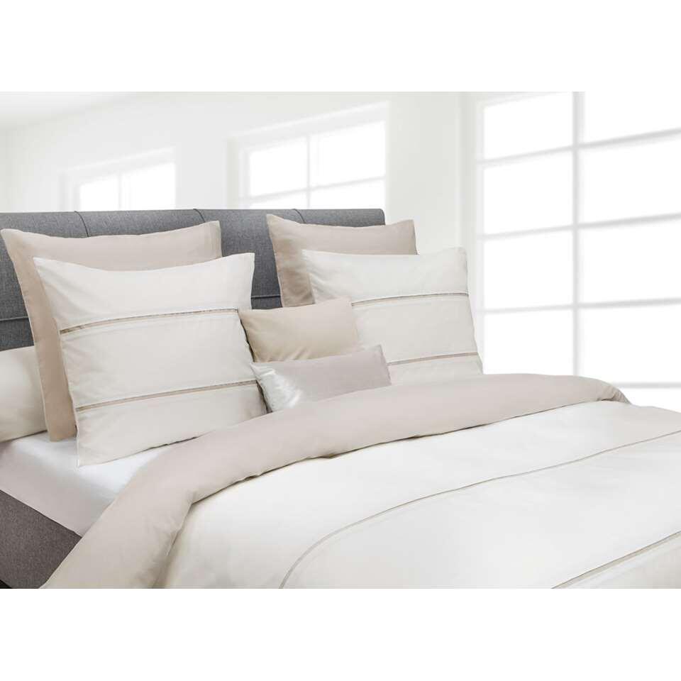 Heckett & Lane dekbedovertrek Jason - off-white - 260x220 cm - Leen Bakker