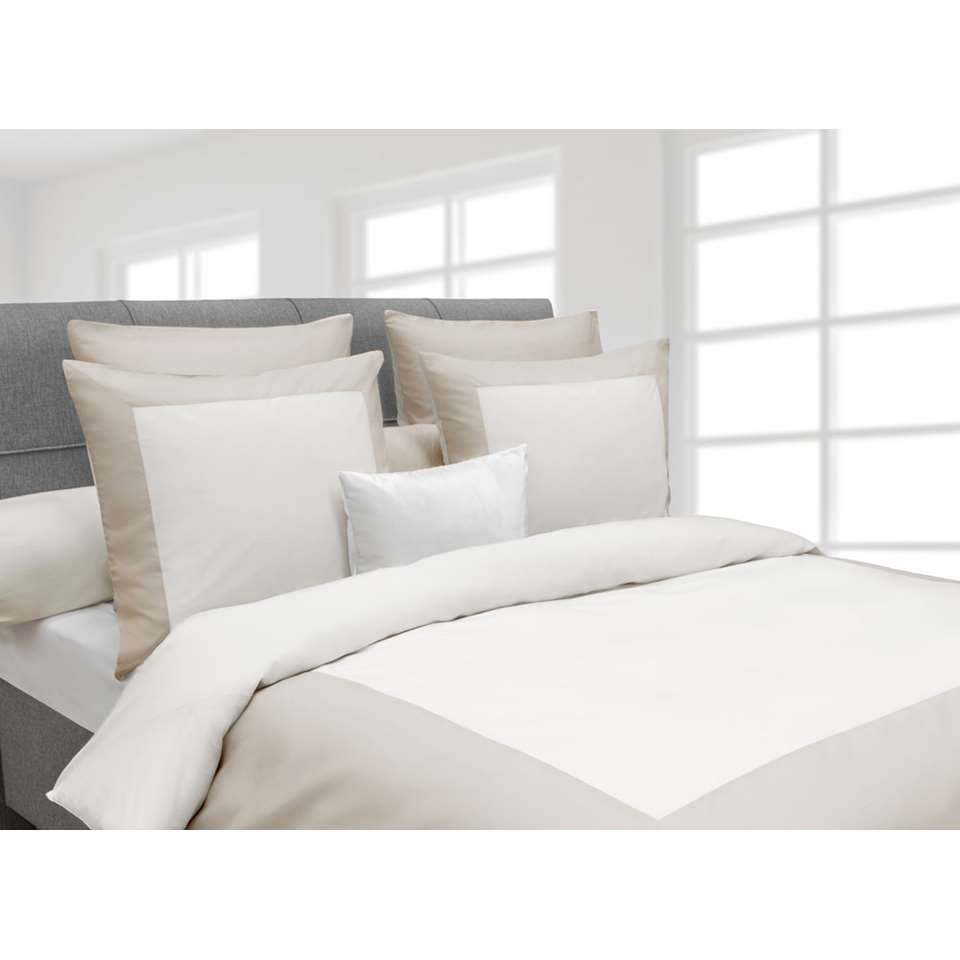 Heckett & Lane dekbedovertrek Lina - off-white - 240x220 cm - Leen Bakker