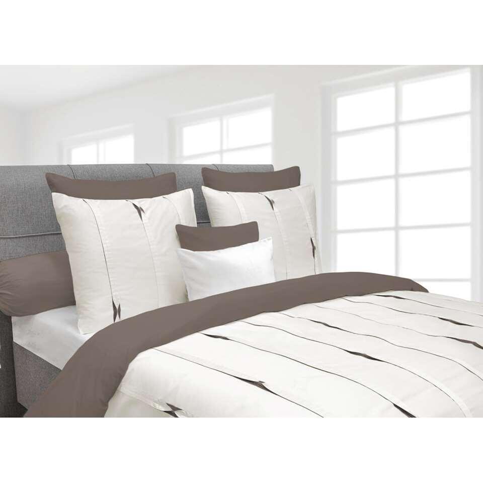 Heckett & Lane dekbedovertrek Hopper - off-white - 140x220 cm - Leen Bakker
