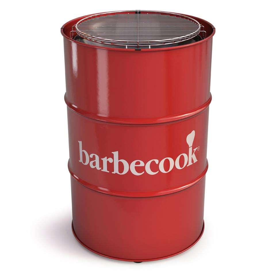 Barbecook Edson houtskoolbarbecue - rood - Leen Bakker