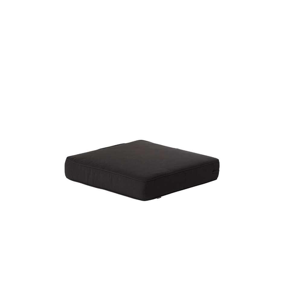 Hartman loungekussen Havana Dark Grey - donkergrijs - 60x60x10 cm - Leen Bakker