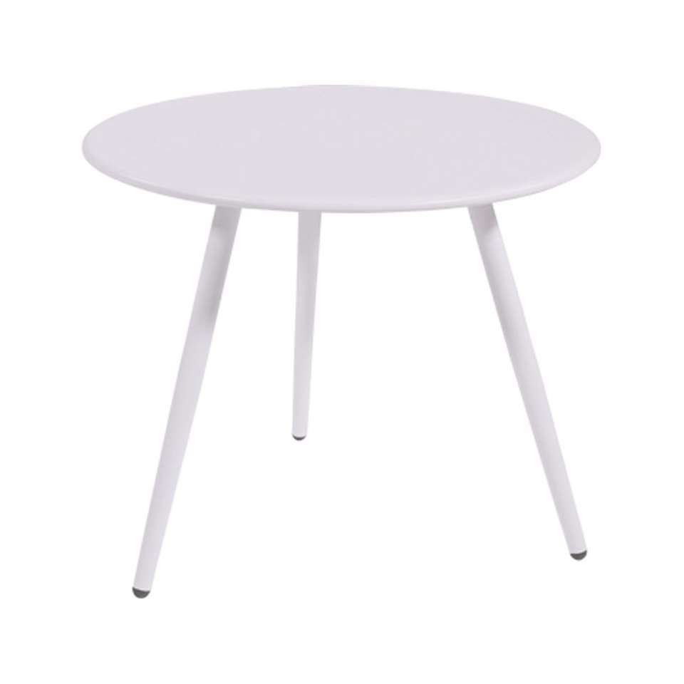 Bijzettafel Rafael - wit - 45x36,5 cm