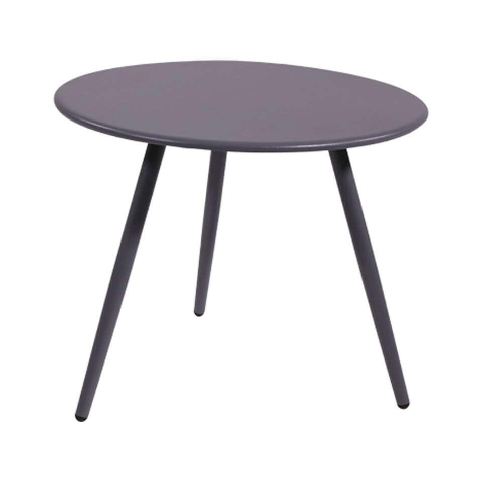 Bijzettafel Rafael - blueberry grey - Ø45 cm - Leen Bakker