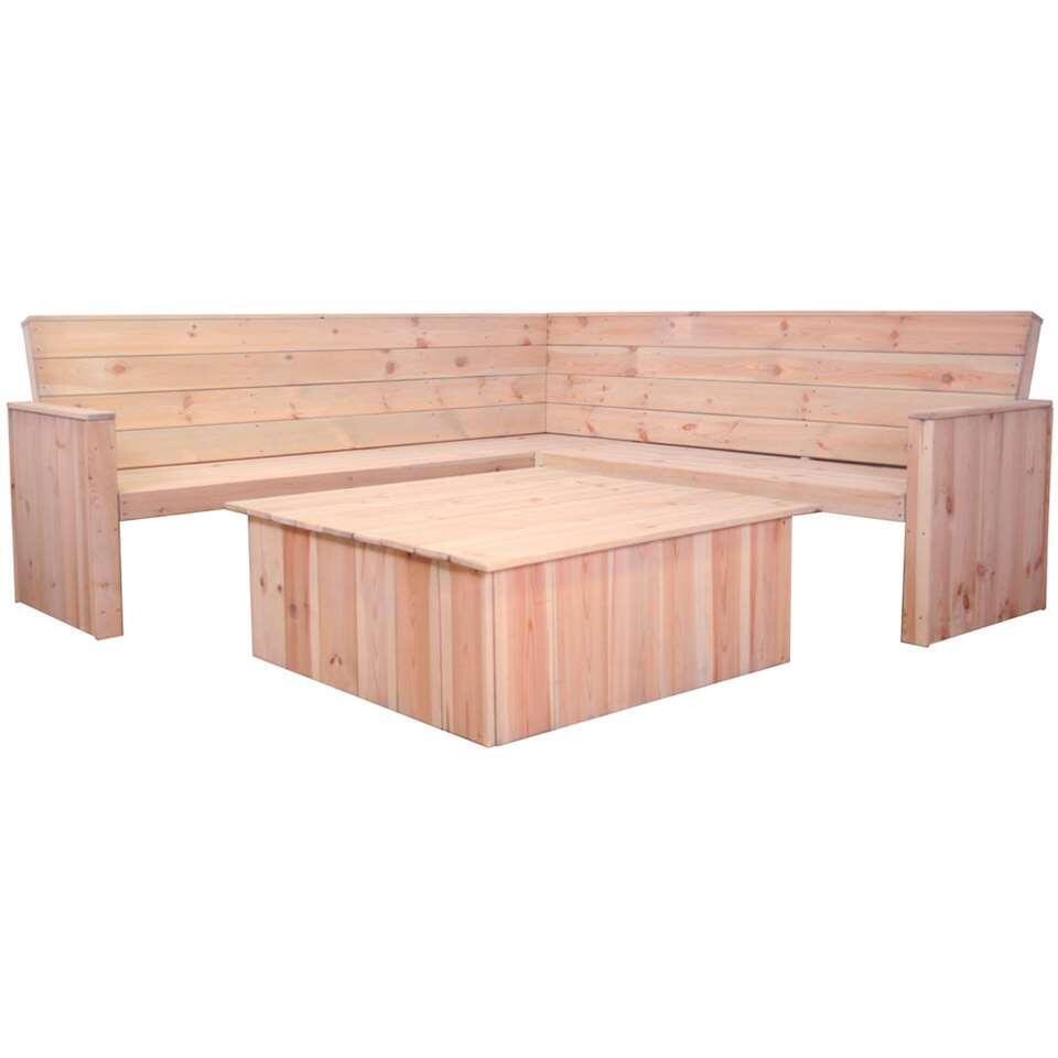 SenS-Line loungeset Toronto - hout - Leen Bakker