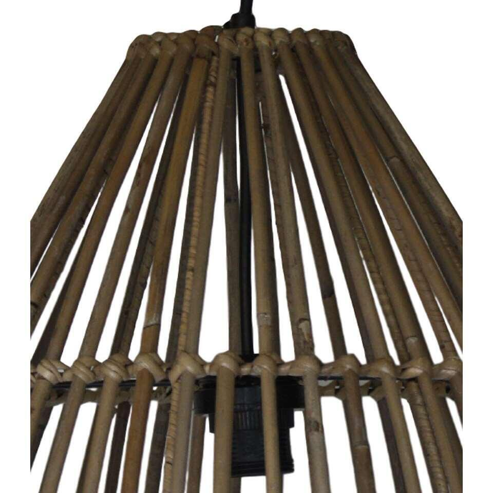HSM Collection hanglamp - naturel - Ø40x51 cm - Leen Bakker