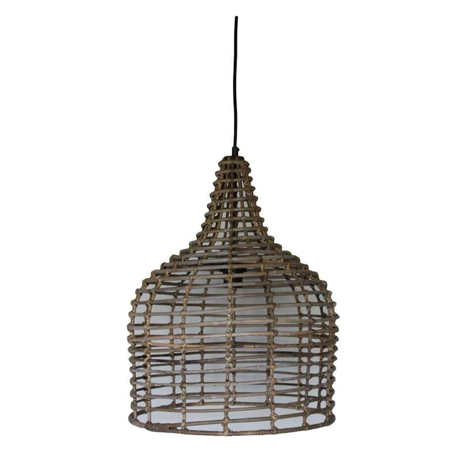 HSM Collection hanglamp - naturel - Ø43x54 cm