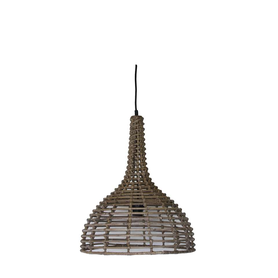 HSM Collection hanglamp - naturel - Ø43x52 cm