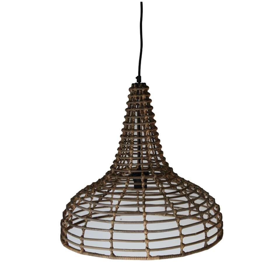 HSM Collection hanglamp - naturel - Ø50x48 cm - Leen Bakker