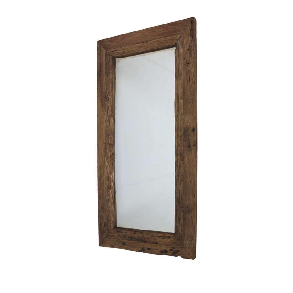 HSM Collection spiegel - naturel - 160x90x5 cm - Leen Bakker