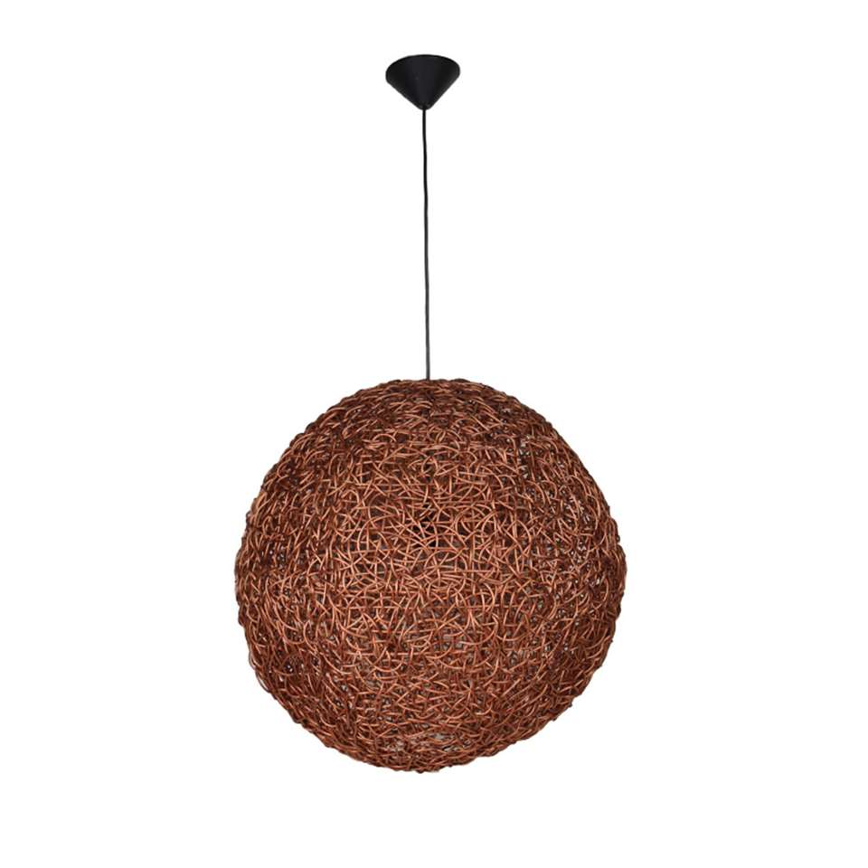 HSM Collection hanglamp rond - koper - Ø60x60 cm - Leen Bakker