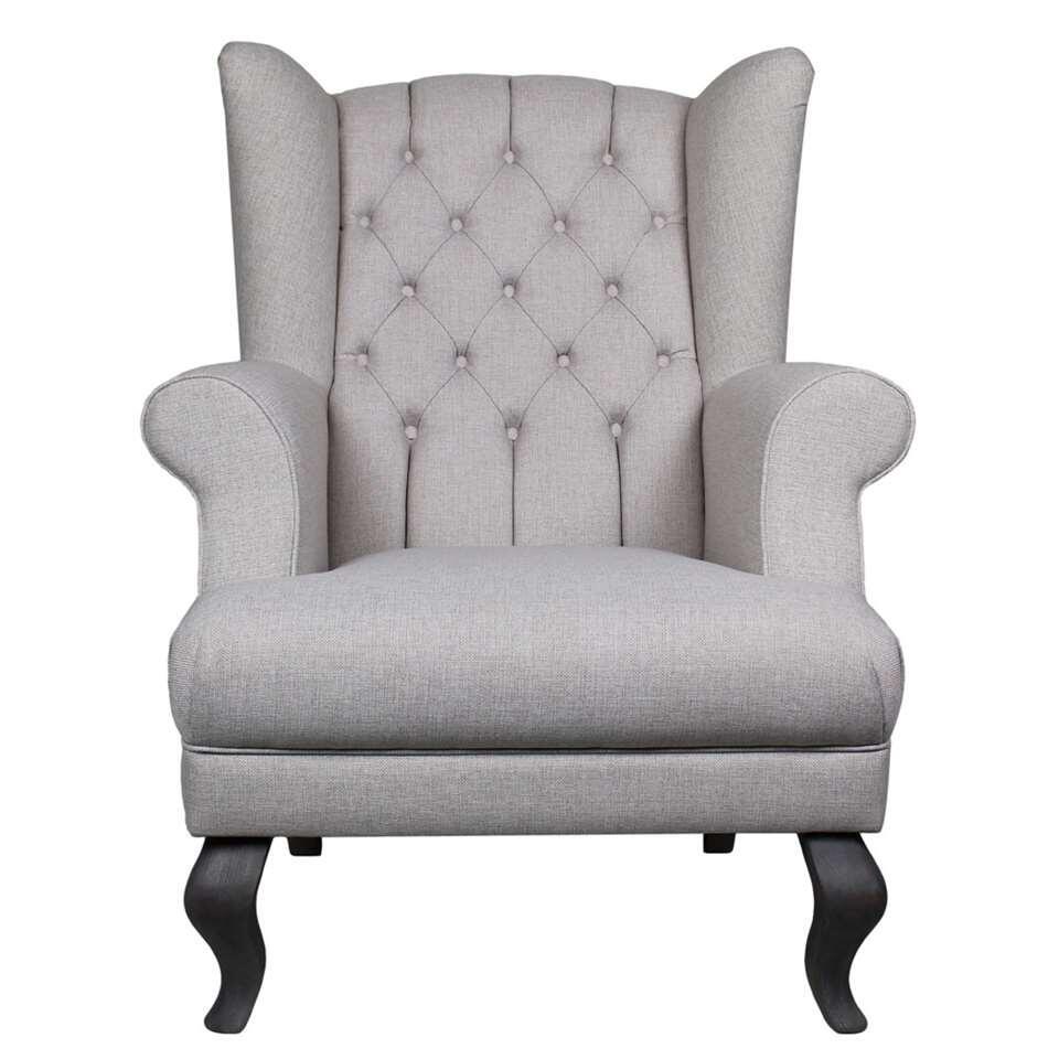 HSM Collection fauteuil Joly - crème - Leen Bakker