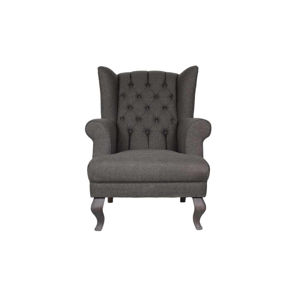 HSM Collection fauteuil Joly - olijfgroen - Leen Bakker