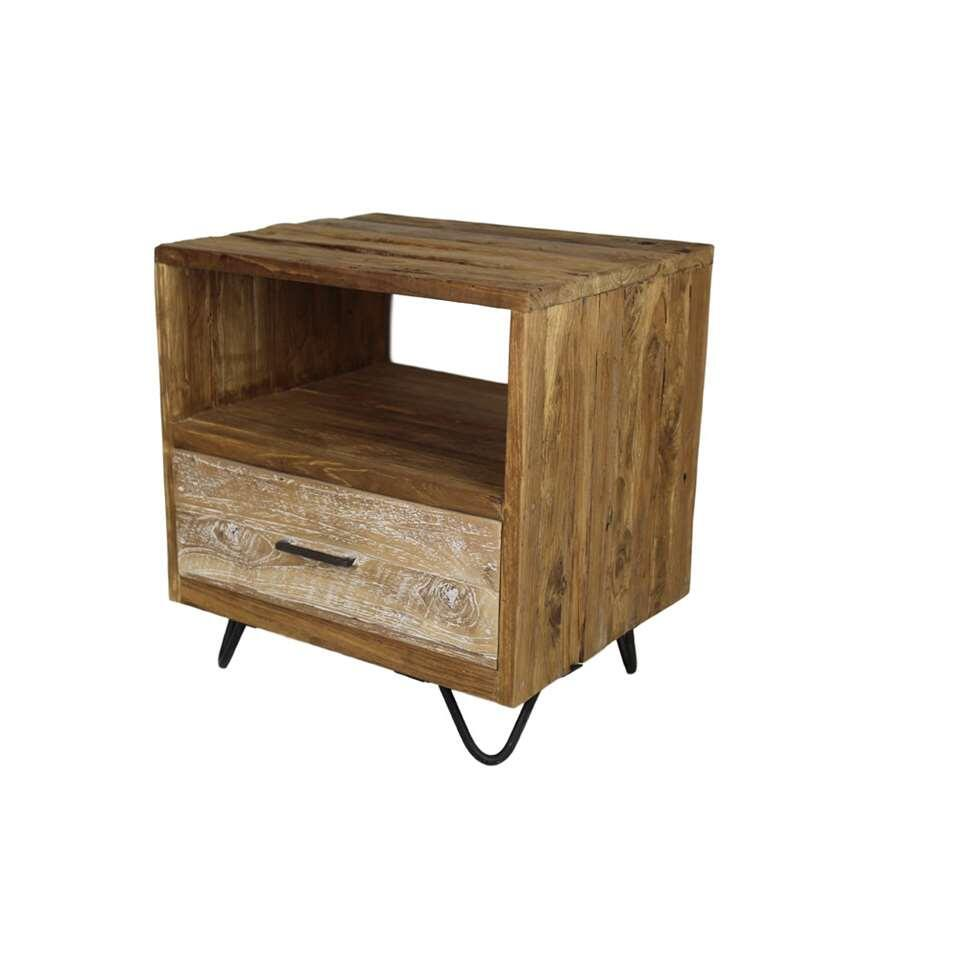 HSM Collection commode Nagas Baliaga 1 tiroir - naturel