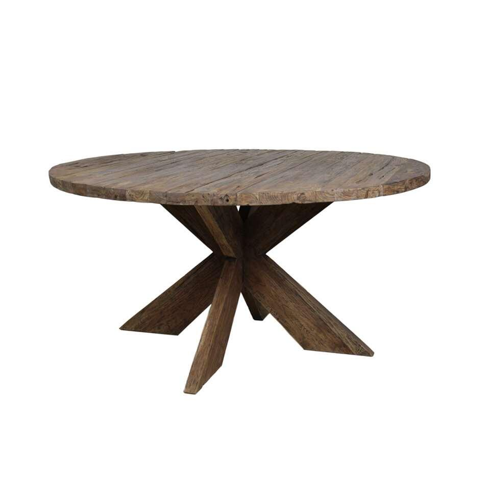 HSM Collection eettafel Dingklik erosie - Ø130 cm