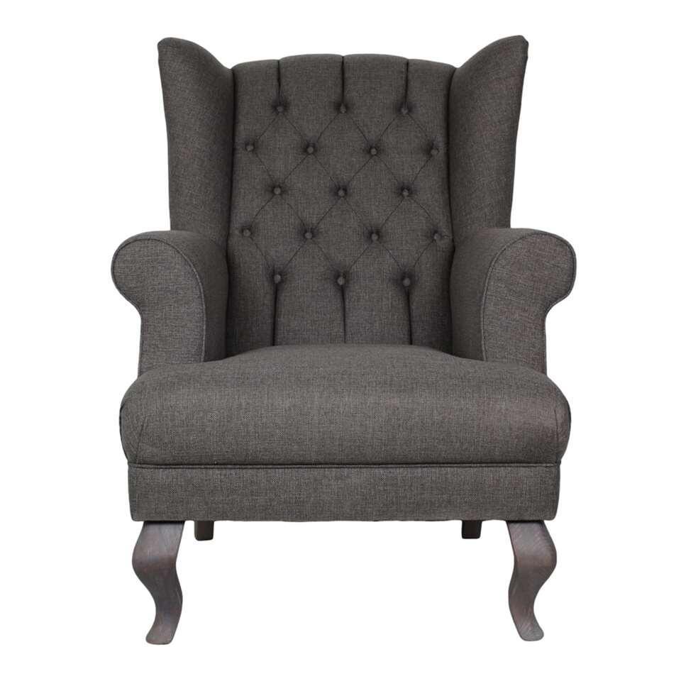 HSM Collection fauteuil Joly - lichtgrijs - Leen Bakker
