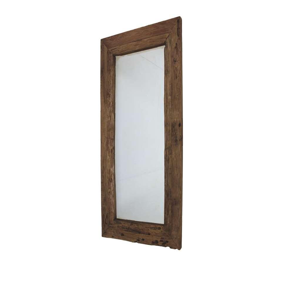HSM Collection spiegel - naturel - 120x60 cm - Leen Bakker