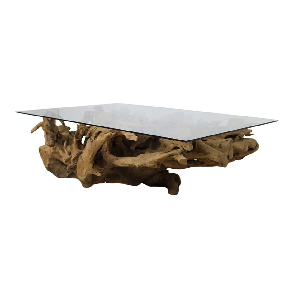 HSM Collection salontafel Root - blank - 140x90x45 cm - Leen Bakker