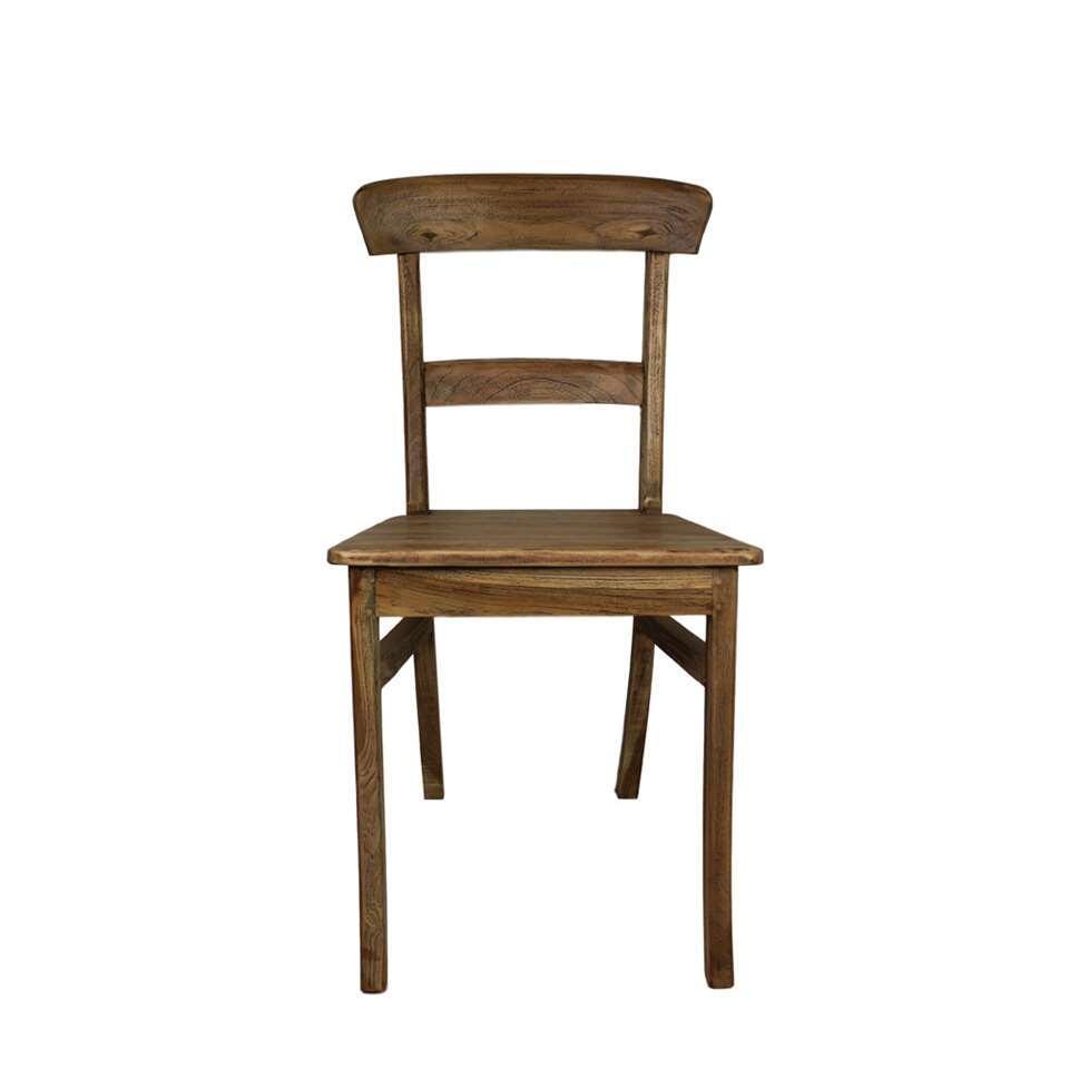 HSM Collection eetkamerstoel Pub Kudus - hout - vintage - Leen Bakker