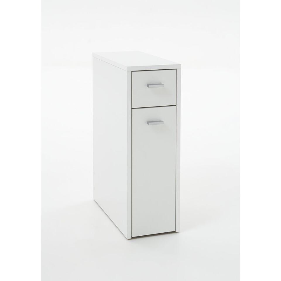 Badkamermeubel Denia - wit - 61x20x45 cm - Leen Bakker