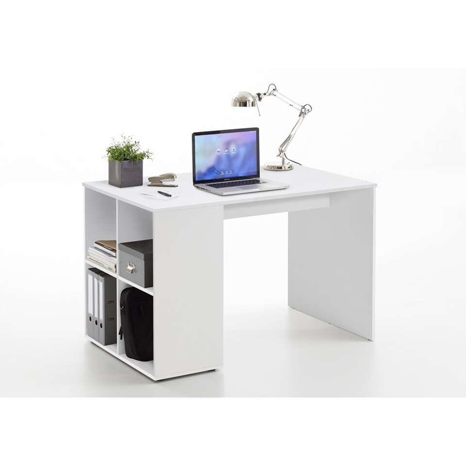 Bureau Gent - wit - 73x117x75 cm - Leen Bakker