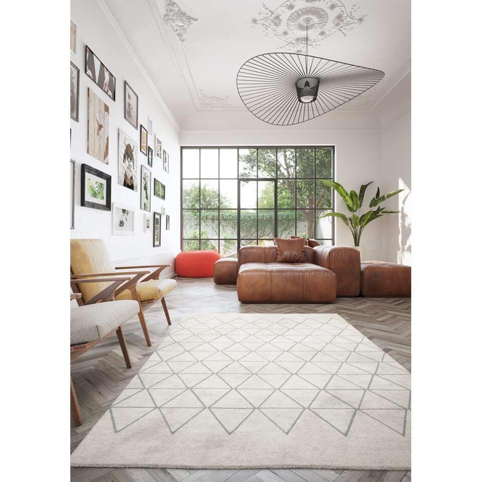 Vloerkleed Rivoli - crème - 120x170 cm