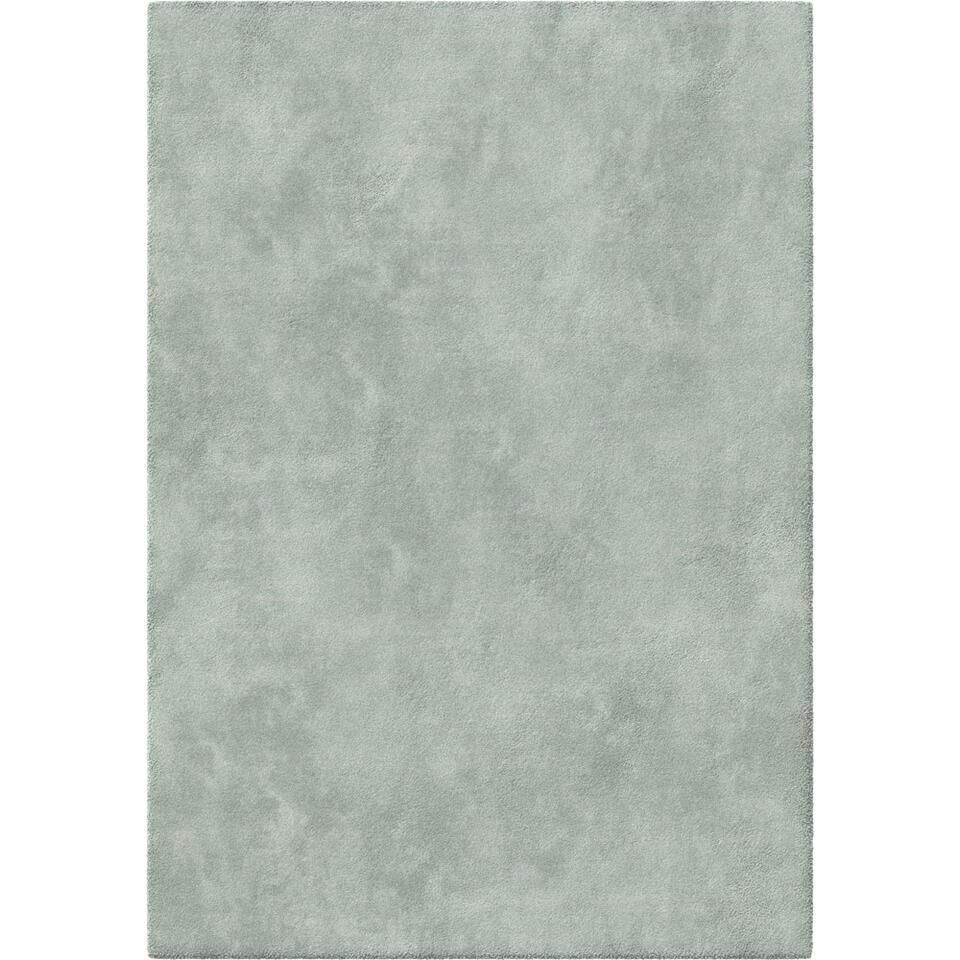 Vloerkleed Leno - aqua - 160x230 cm