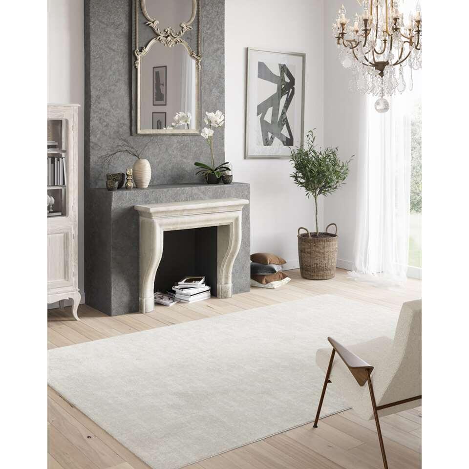 Vloerkleed Leno - beige - 120x170 cm
