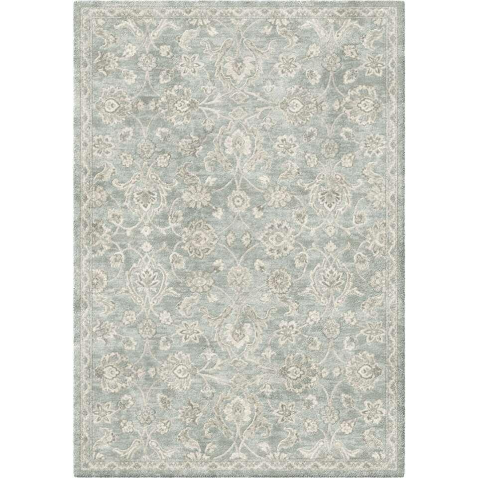 Vloerkleed Rosalia - grijs - 160x230 cm - Leen Bakker