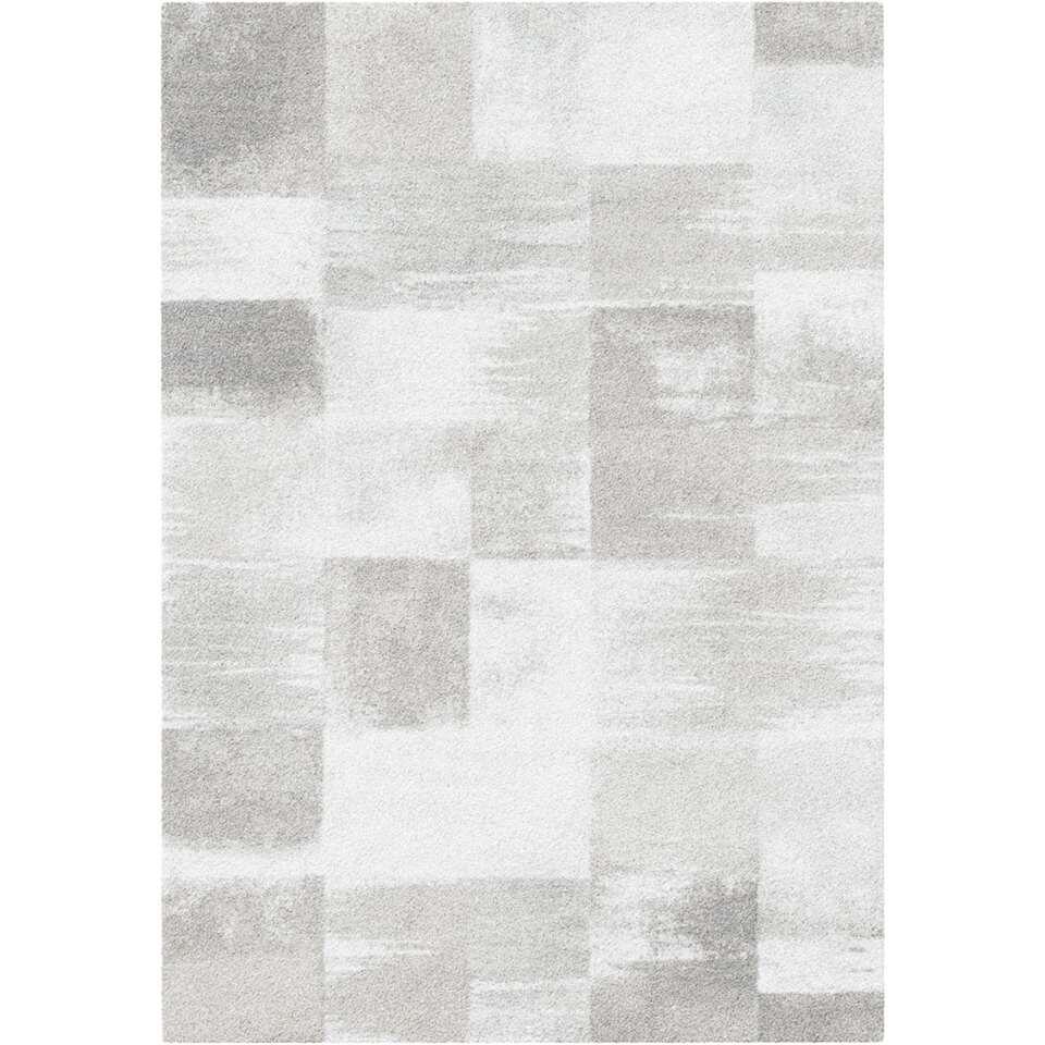 Vloerkleed Fondo - grijs - 200x290 cm