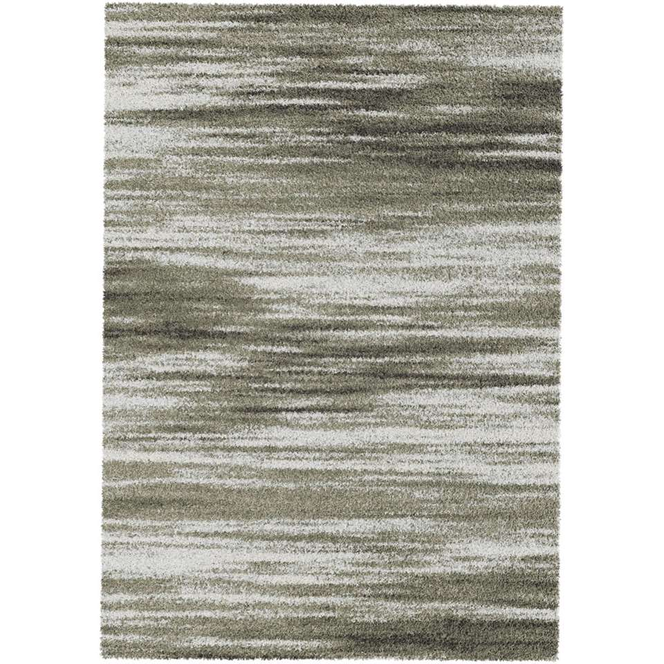 Vloerkleed Talana - grijs - 200x290 cm - Leen Bakker