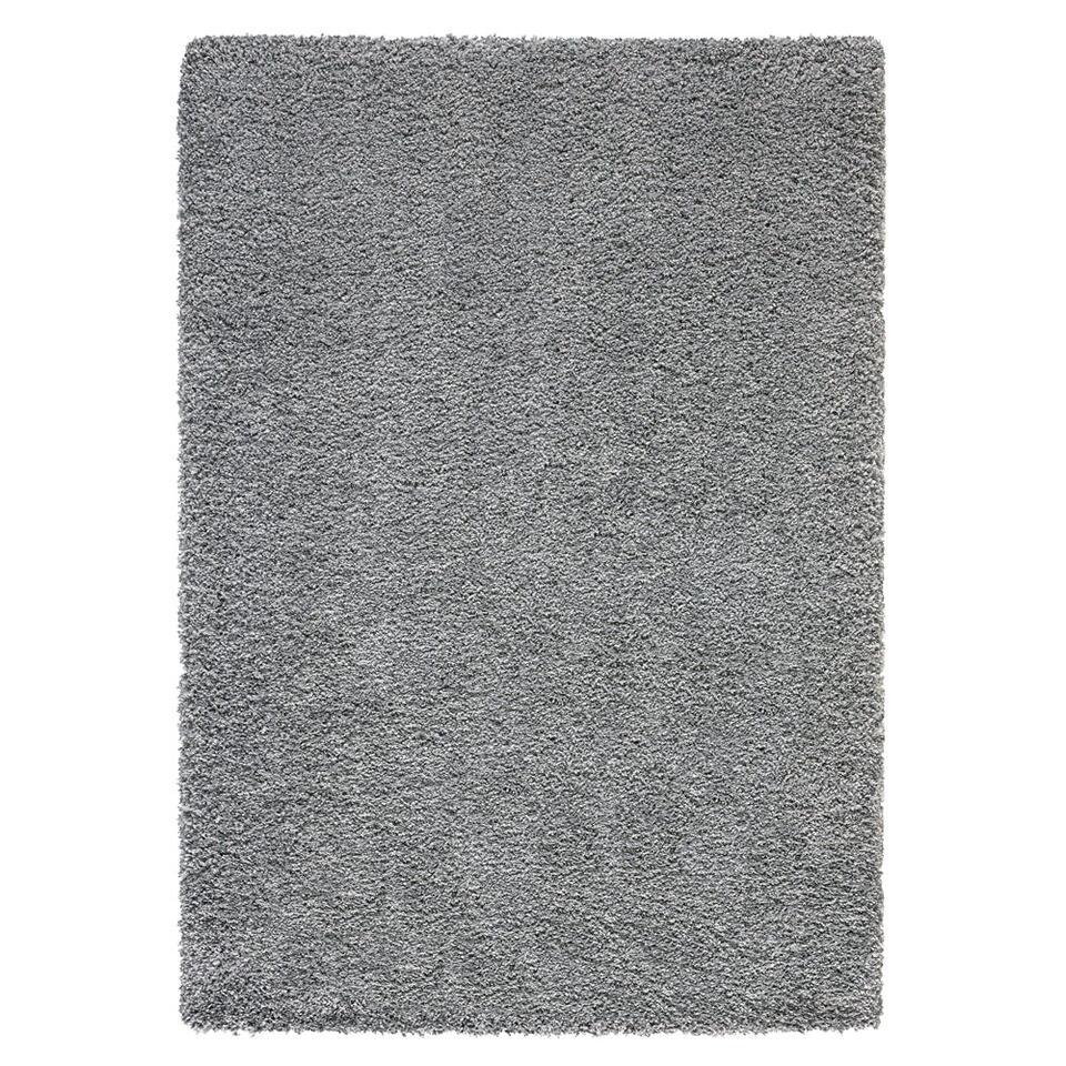 Vloerkleed Verduno - grijs - 120x170 cm - Leen Bakker