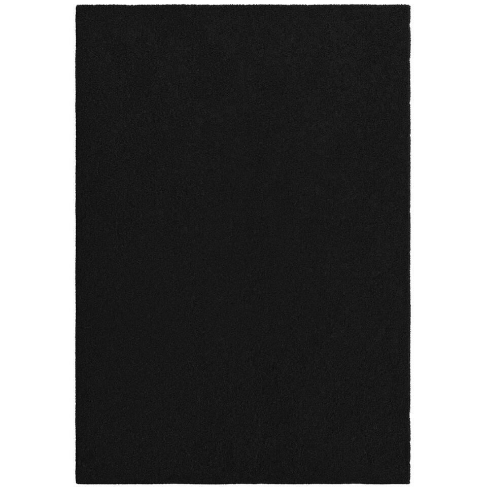 Vloerkleed Manzano - zwart - 160x230 cm
