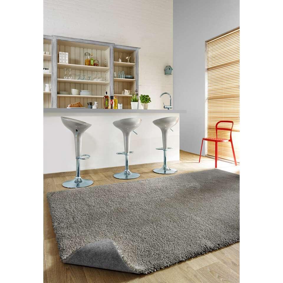 Vloerkleed Manzano - grijs - 160x230 cm - Leen Bakker