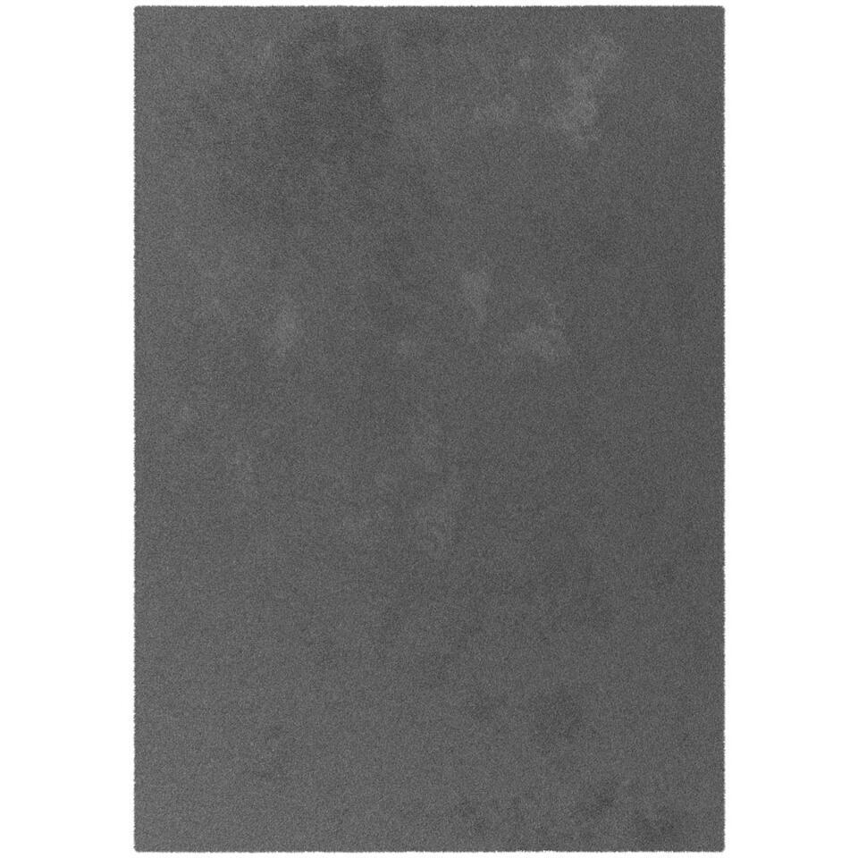 Vloerkleed Moretta - antraciet - 120x170 cm