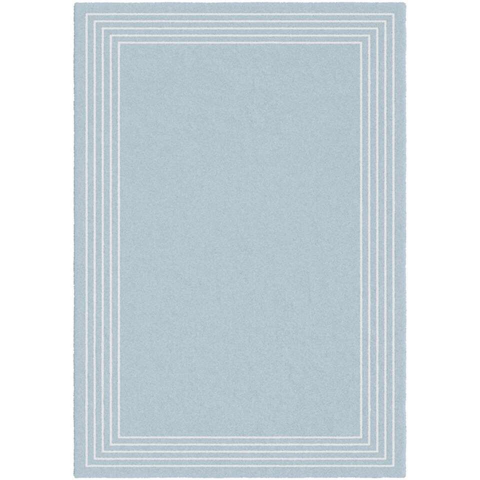 Vloerkleed Vione - blauw - 160x230 cm - Leen Bakker
