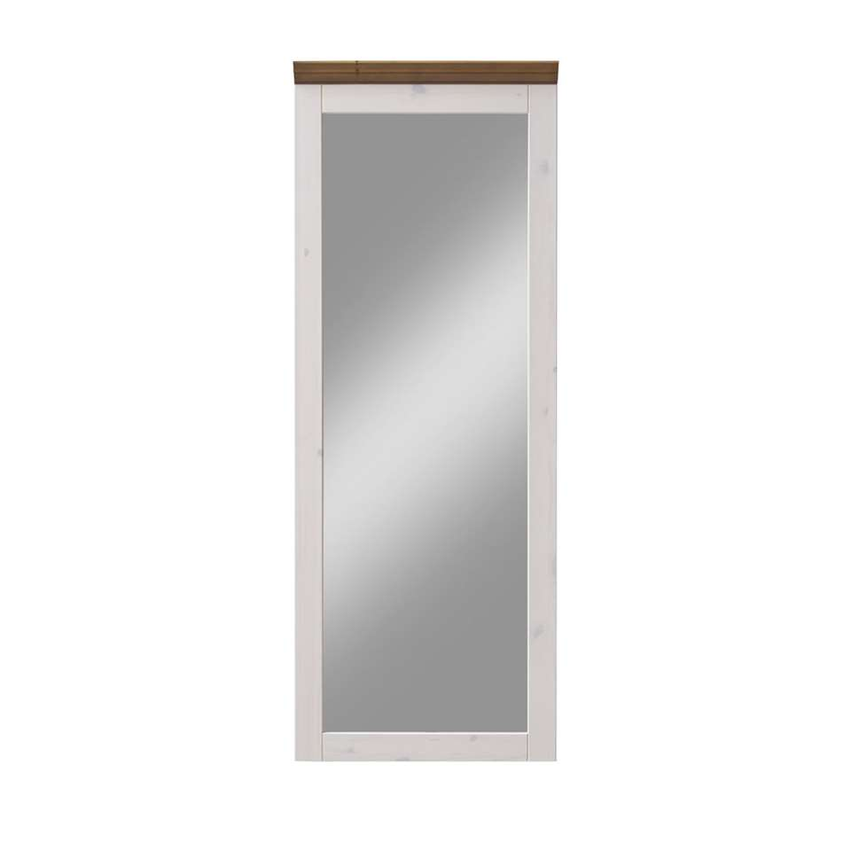 Spiegel Monaco is een mooie wandspiegel voor bijvoorbeeld in de gang. Zo kun je nog snel even checken hoe je er uit ziet voordat je de deur uitloopt.