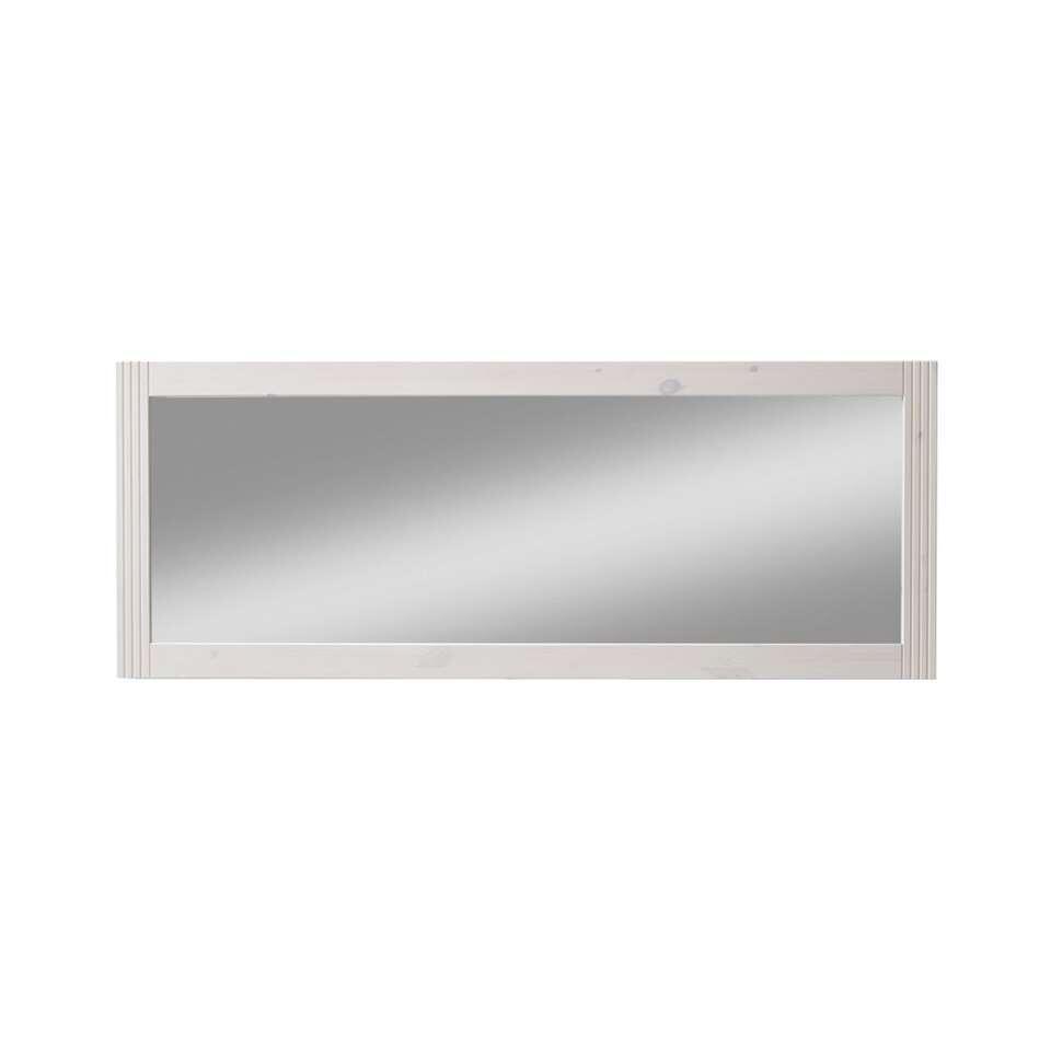 Spiegel Monaco – wit – 41×127,7×1,8 cm – Leen Bakker
