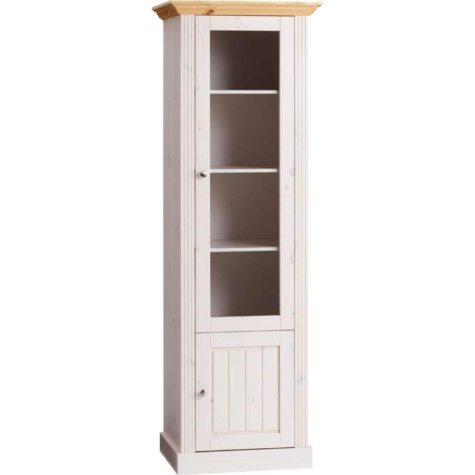 Buffetkast Monaco 2 deuren - wit/wax - 190,1x62,6x46,5 cm - Leen Bakker