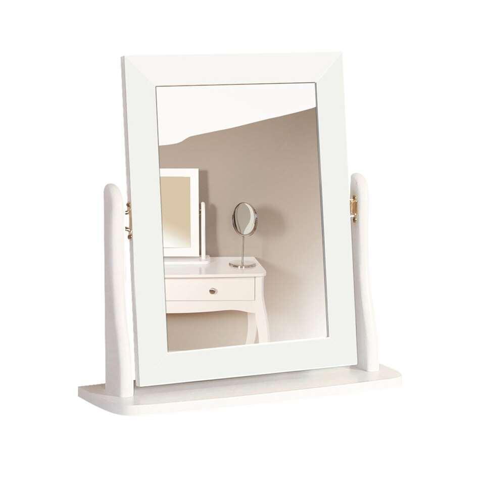 Spiegel Baroque – wit – 49,4×46,7×16,7 cm – Leen Bakker