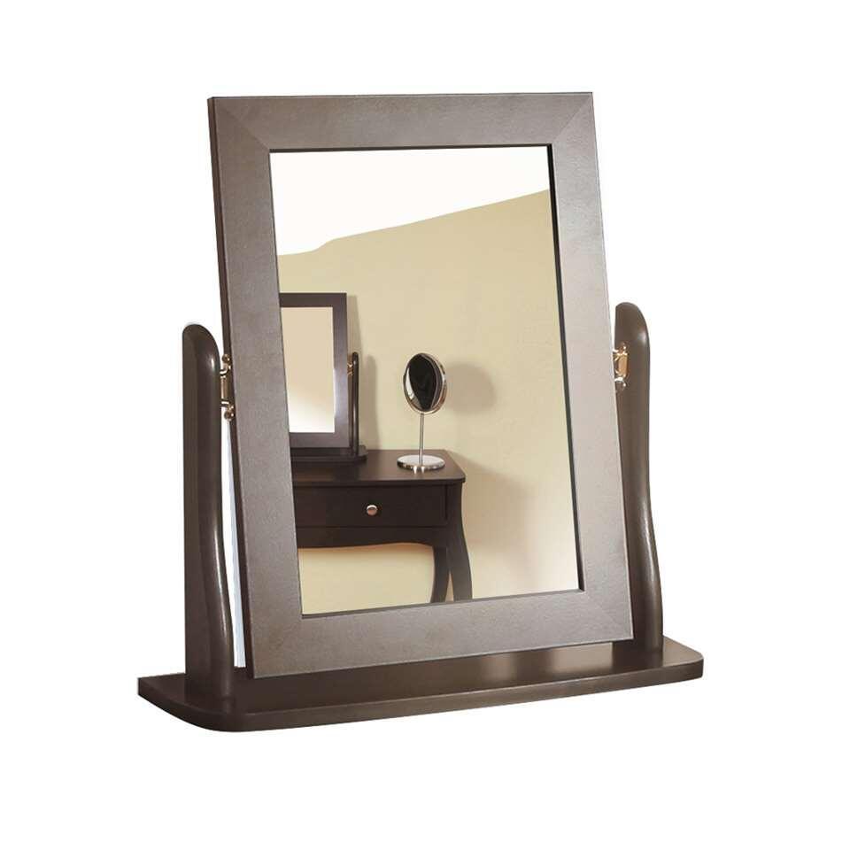 Spiegel Baroque – donkergrijs – 49,4×46,7×16,7 cm – Leen Bakker