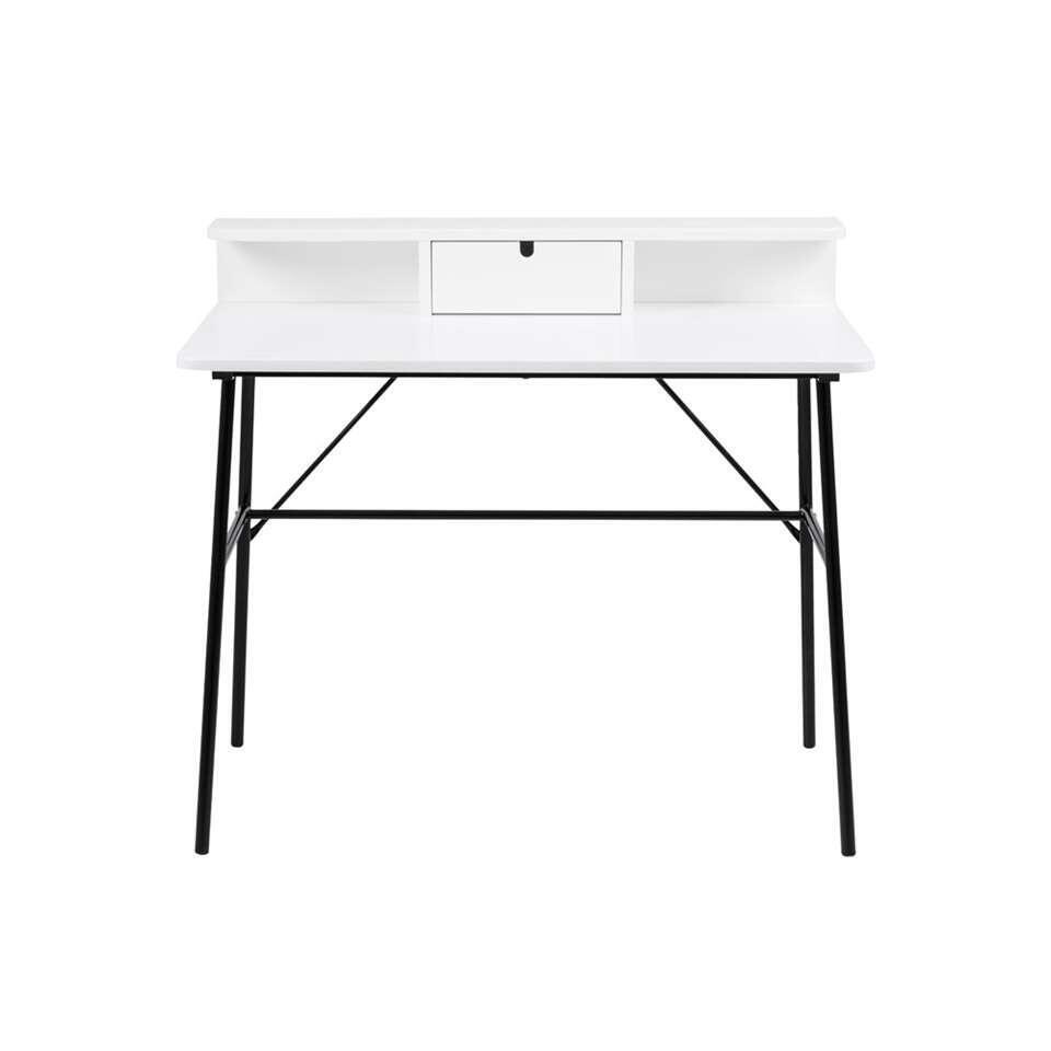 Bureau Molde - wit - 100x55x88 cm