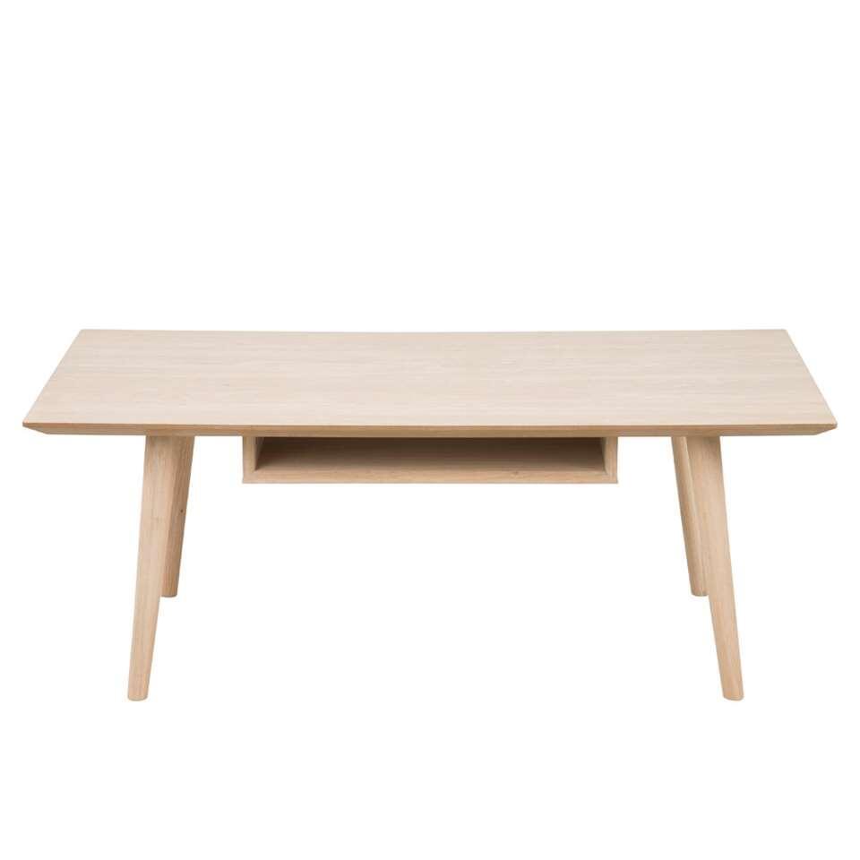 Salontafel Edsta - naturel - 42x115x60 cm - Leen Bakker