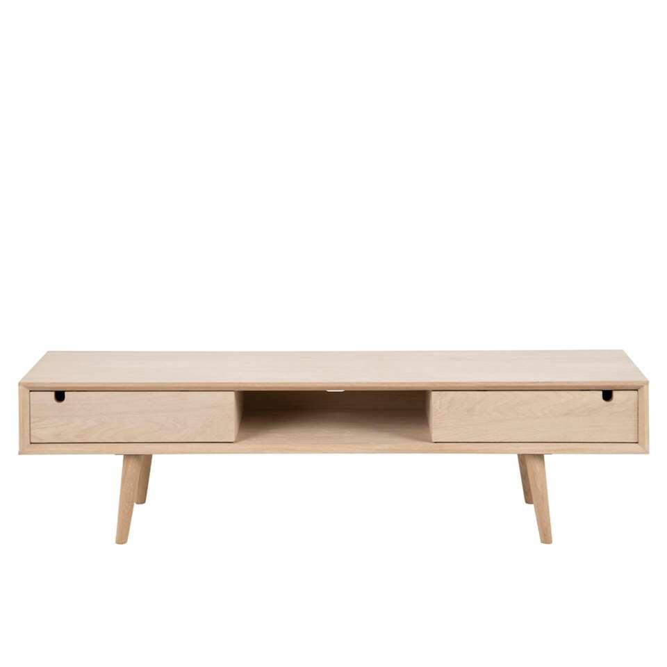 Tv Meubel Eiken Look.Tv Meubel Edsta Naturel 43x160x38 Cm
