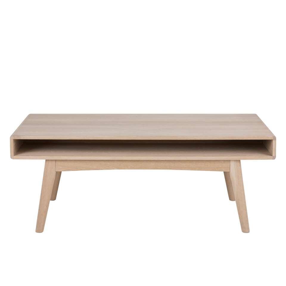 Salontafel Lundo - naturelkleur - 130x70x50 cm - Leen Bakker