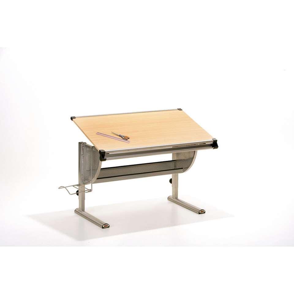 Bureau Ibo - beige - 63x118x72,5 cm - Leen Bakker